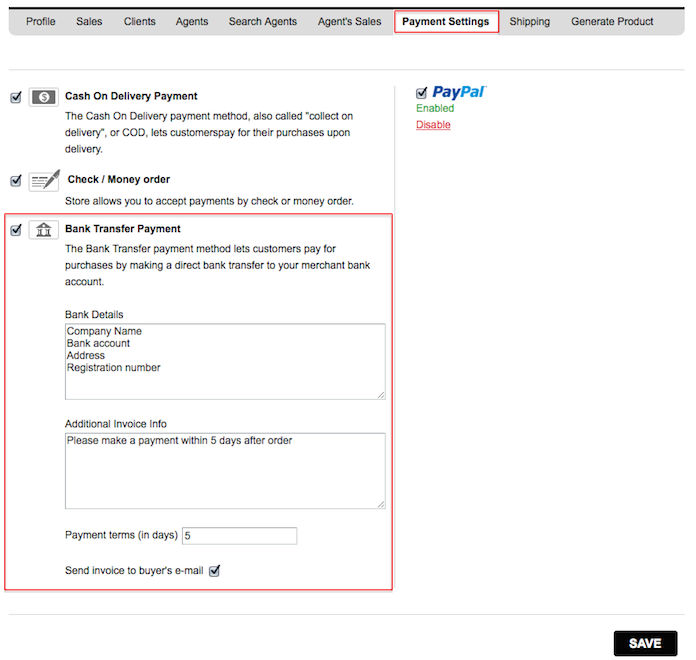 Invoicing Clients Automatically AnaZana Help Center - Send invoice for payment